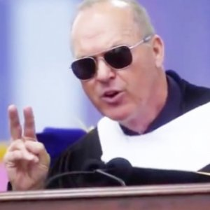 Michael Keaton's Two Words Of Invaluable Advice To College Grads · The U.S.  ...